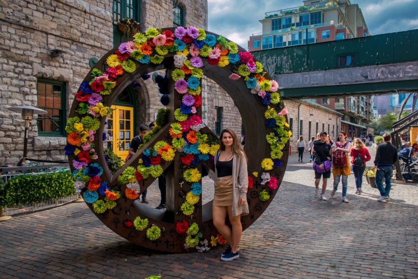 Art Installations at Distillery District