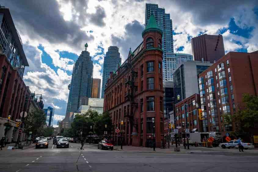 Gooderham Flat Iron Building Toronto