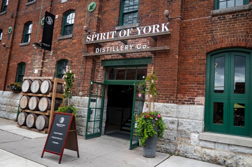 The Spirit Of York Distillery Co - Toronto