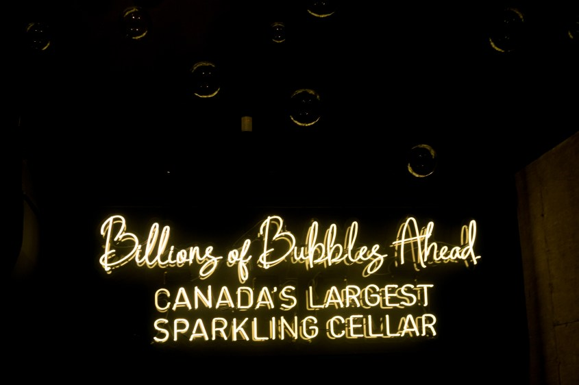 Trius Winery - Canada's Largest Sparkling Cellar