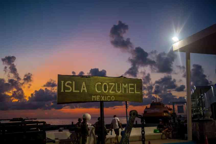 Isla Cozumel, Mexico