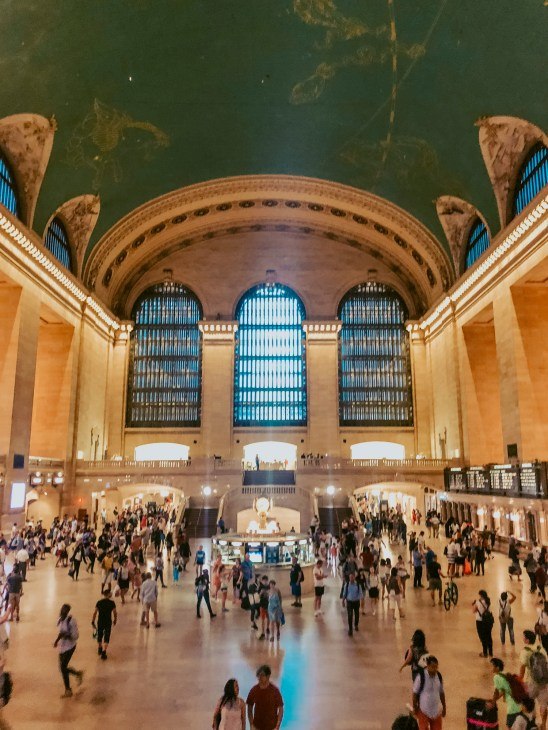 A busy Grand Central Station