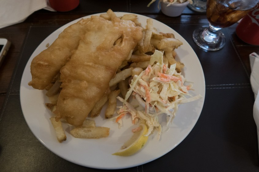 Wigan Pier fish & chip shop, Squamish, British Columbia