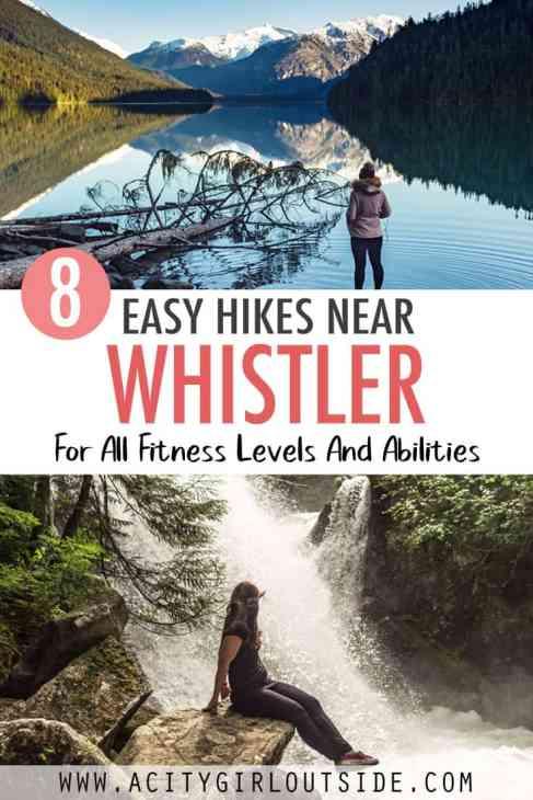 Easy Hikes Near Whistler, Canada