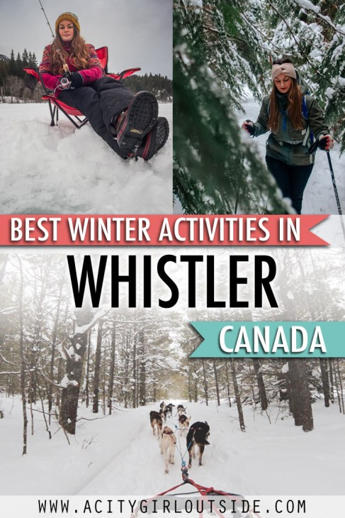 Best Winter Activities in Whistler, Canada