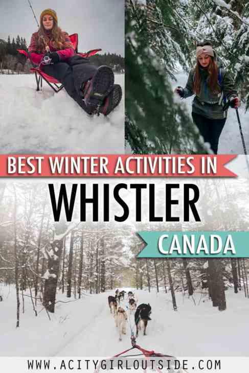 Best Winter Activities in Whistler, Canada