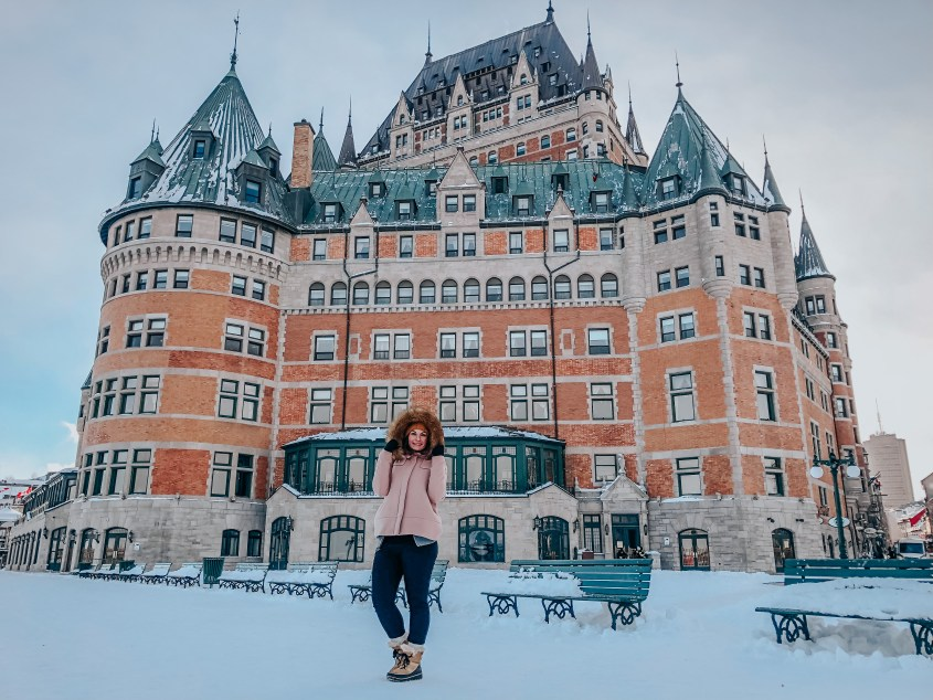 Thermals are a must when visiting Canada in winter, they kept me SO warm on my trip to Quebec City