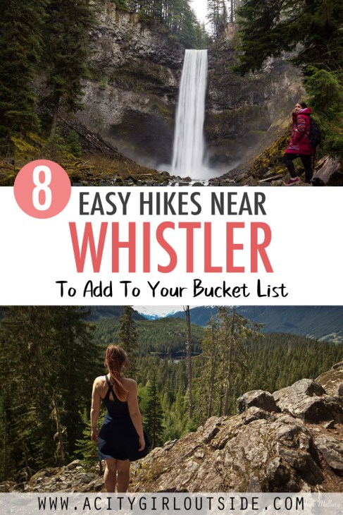 Where to find easy and short hikes in Whistler