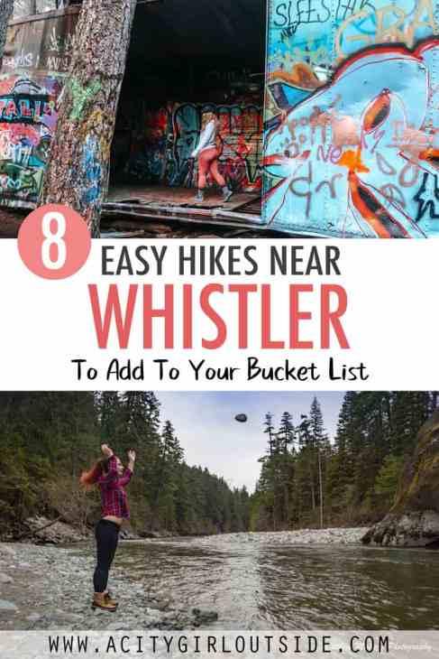 Easy Hikes Whistler - 8 Hikes Near  Whistler, British Columbia