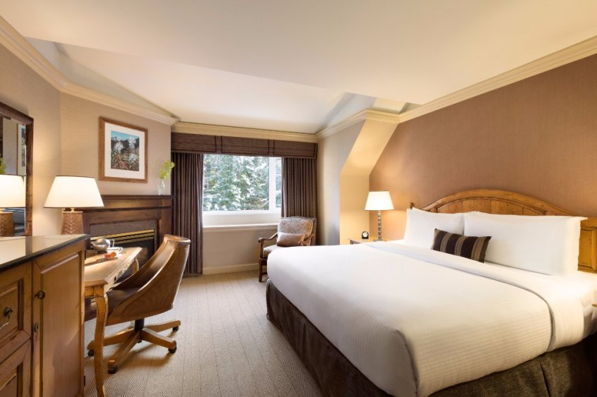 The Fairmont Chateau offers ski in ski out rooms at the base of Blackcomb