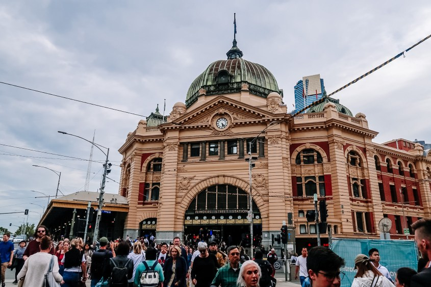 One of the most iconic buildings in all of Melbourne is Flinders Street Station