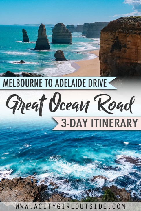 Great Ocean Road 3 Day Itinerary Melbourne to Adelaide road trip