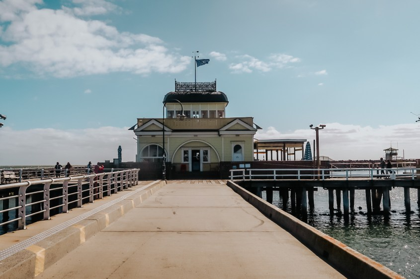 St.Kilda Pier is the place to spot penguins at sunset
