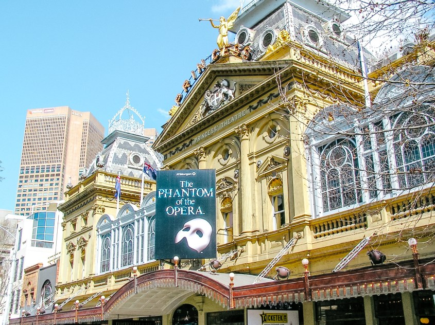 Experiencing one of Melbourne's theatres is one of the best things to do during your 5 days in Melbourne