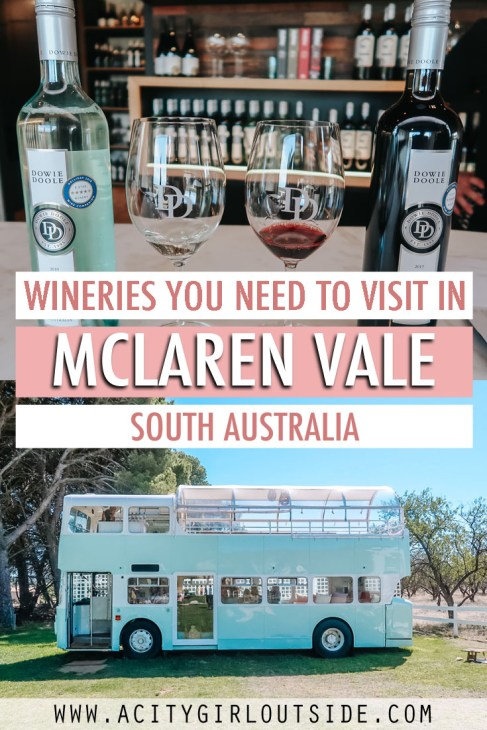 Must Visit Wineries in Mclaren Vale Australia
