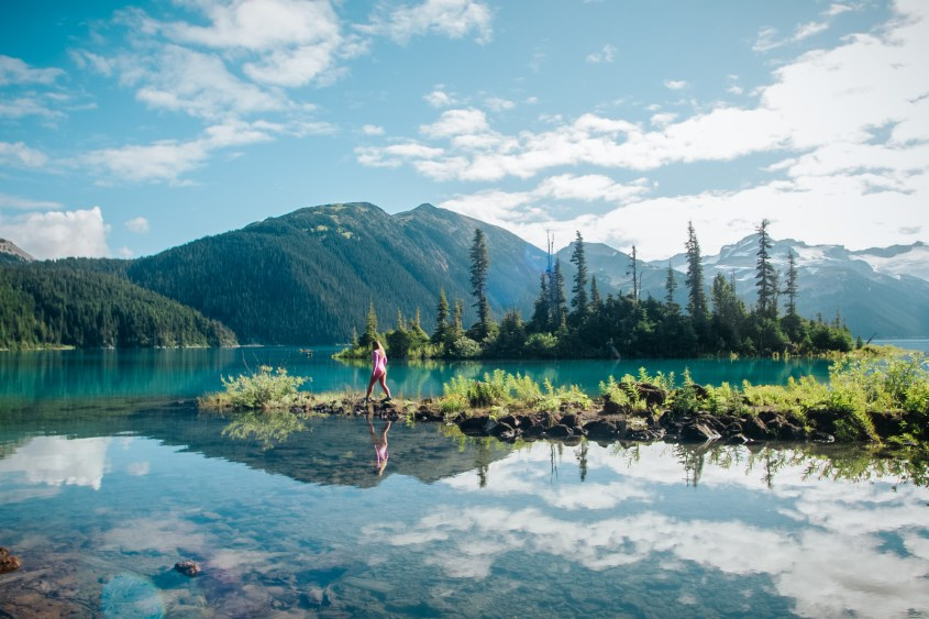 Garibaldi Lake in Garibaldi Provincial Park is one of many alternative hikes to Joffre Lakes
