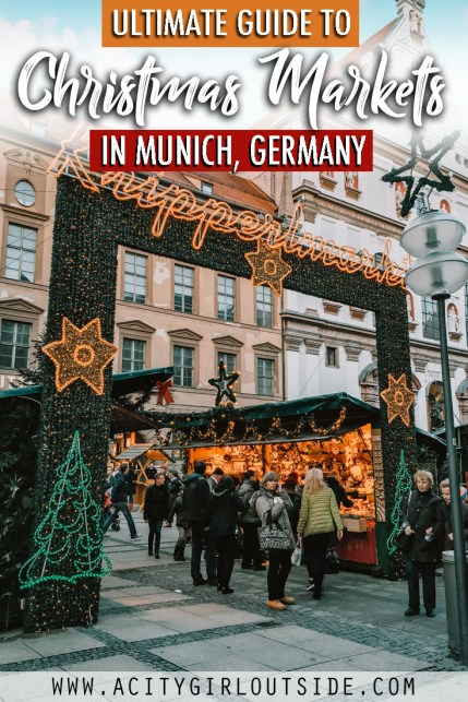 Ultimate Guide To The Best Christmas Markets In Munich Germany