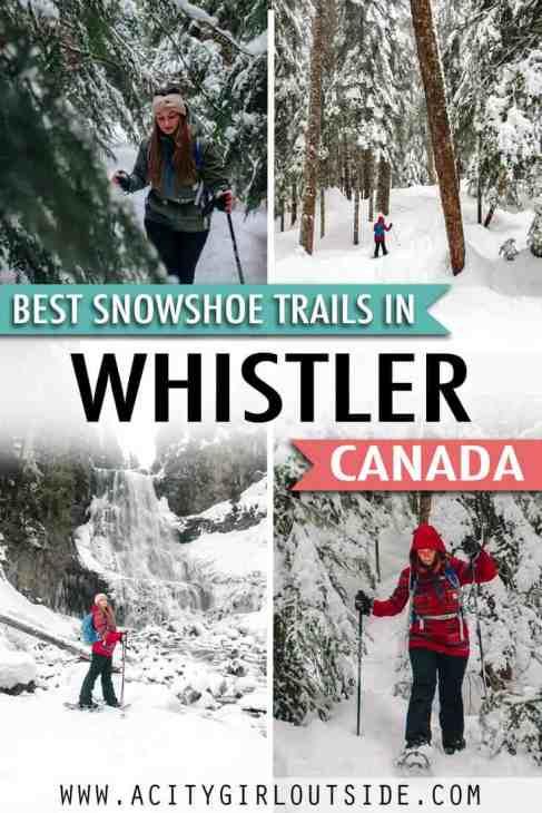 Best Snowshoe Trails In Whistler