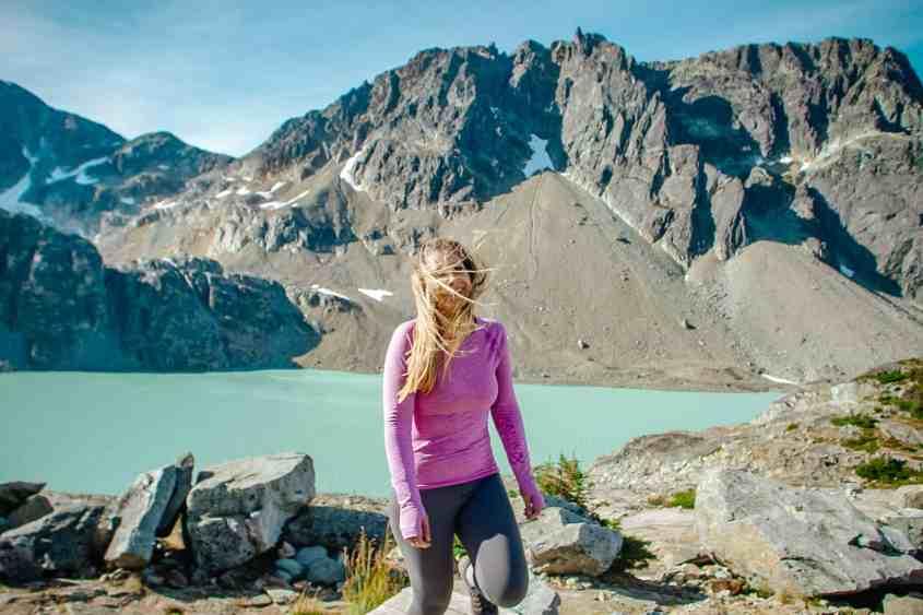 Wedgemount Lake Whistler in the summer