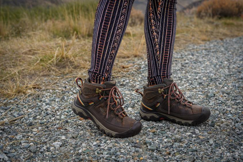 Good hiking boots should be at the top of your hiking packing list