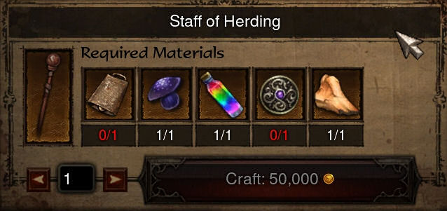Forging the staff of herding