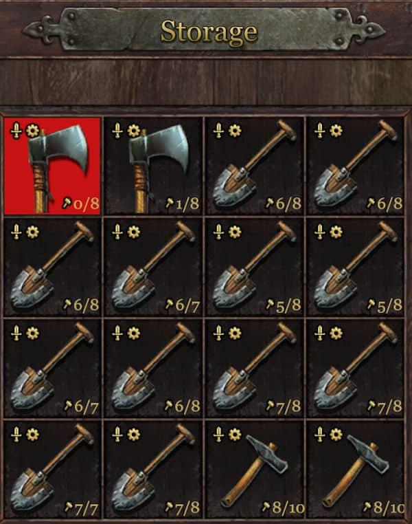 Grimmwood shovels overkill
