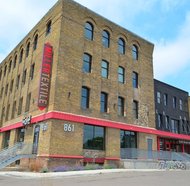 Miller Textile Building, Ackerberg, 861 Hennepin Avenue in Minneapolis
