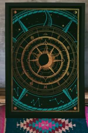 The Chronocompass Print
