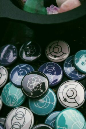 Alchemical Pinback Buttons