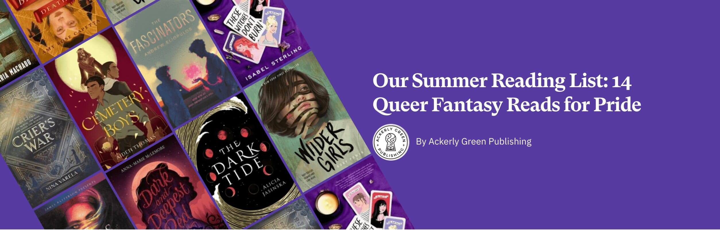 Our Summer Reading List: 14 Queer Fantasy Reads for Pride