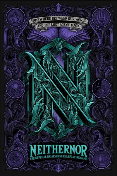 Cover for the Neithernor roleplaying game cover
