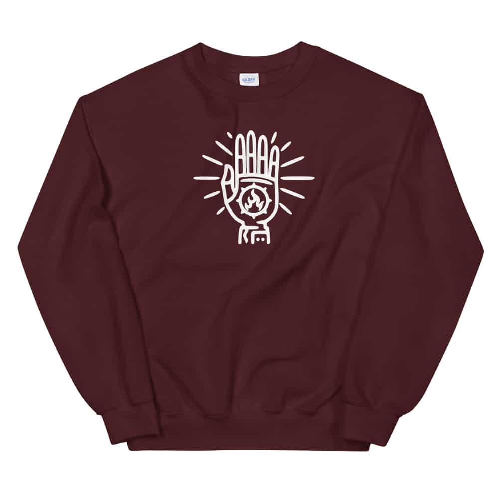 unisex-crew-neck-sweatshirt-maroon-front-608d78621627b.jpg