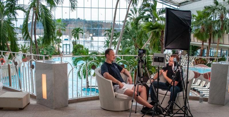 Interview in der Therme Bad Wörishofen – Thema: Fachkräftemangel