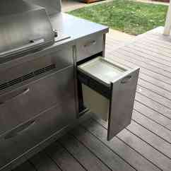 Stainless Steel Outdoor Kitchen Cart Kitchens Adelaide
