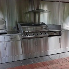 Stainless Steel Outdoor Kitchen Canister Kitchens Adelaide