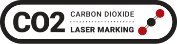 Ackley CO2 Laser Marking Badge
