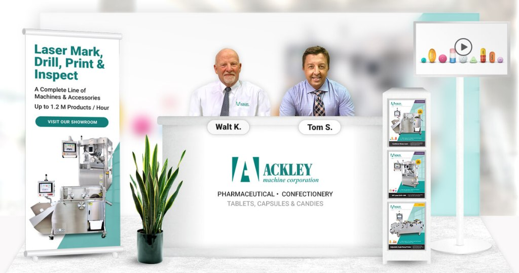 Ackley Machine Corporation Virtual Booth