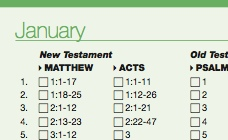 Two-Year Bible Reading Plan - Anglican Church League, Sydney