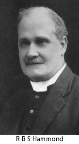 Archdeacon RBS Hammond
