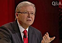 Prime Minister Kevin Rudd, Q&A 02 September 2013