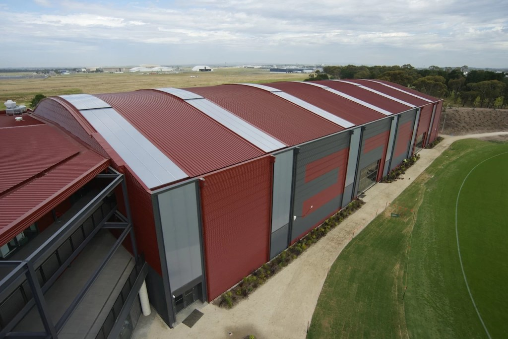 03122013 SJ 100 LR 1024x683 - Architectural Cladding Project – Essendon Footbal Club Training Facility