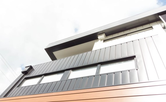 14b Station St Fairfield 17 - COLORBOND® steel delivers a sharp relief for this residential project
