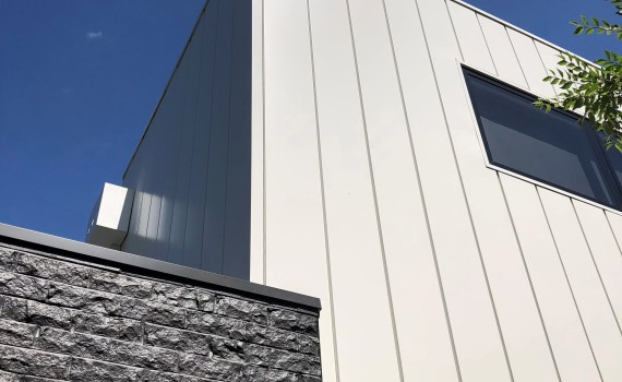 Barkly St Bendigo Design Cladding Systems 4a - Interlocking Metal Cladding shines for this residential showpiece