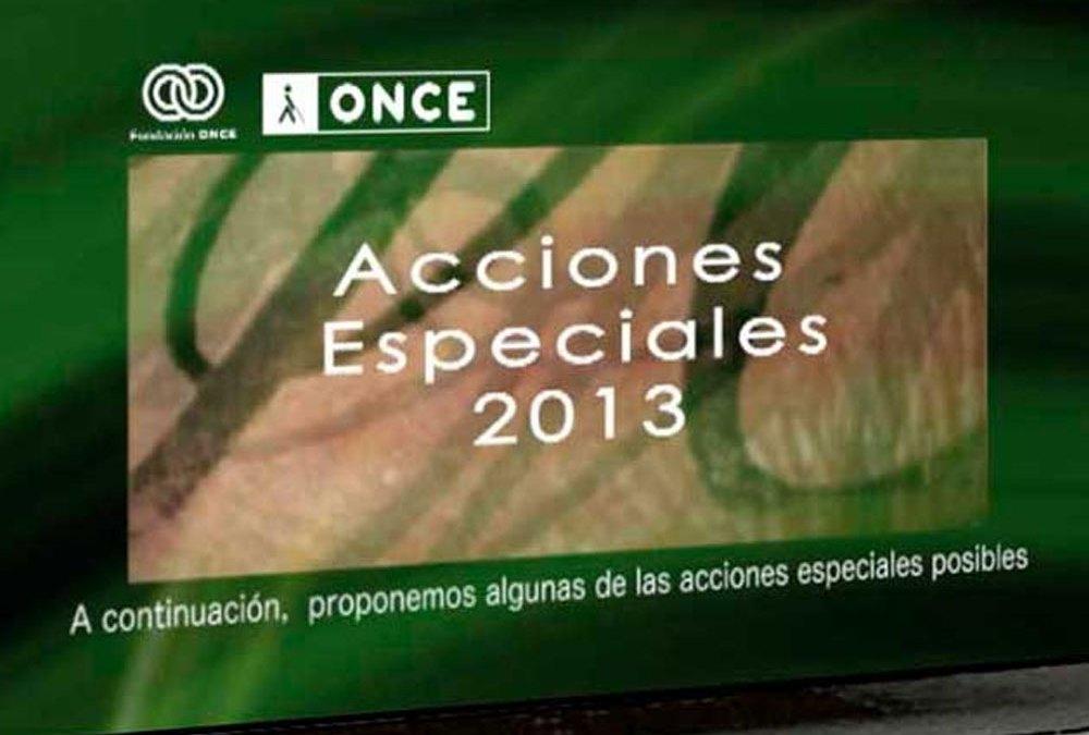 Edición del Vídeo institucional acciones ONCE