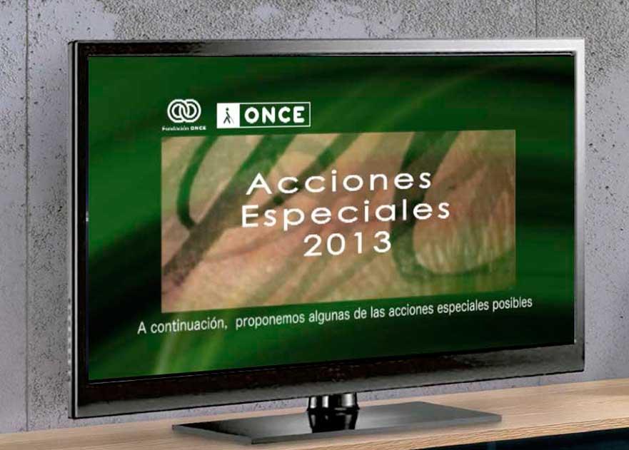 Vídeo institucional ONCE Portafolio Clara Ortega