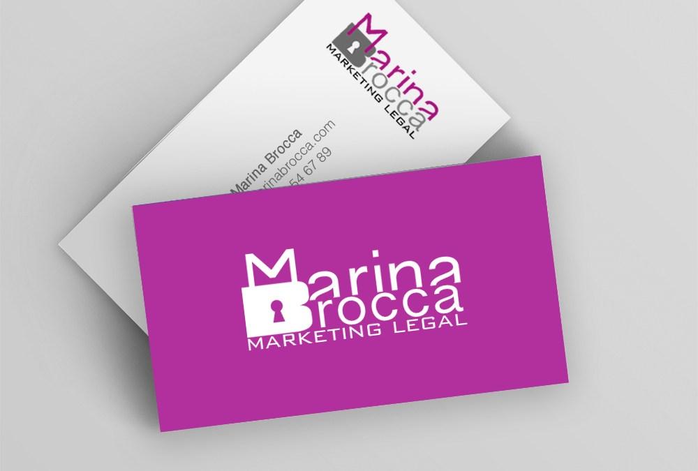 Creación de la Identidad corporativa de Marina Brocca