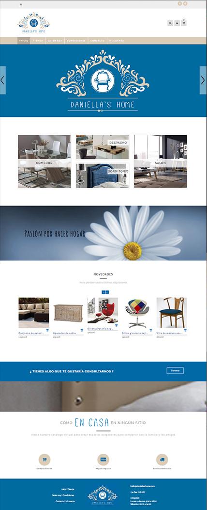 tienda online portafolio web Diseño Klerr
