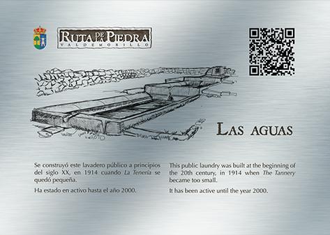 Placas de la Ruta de la Piedra Valdemorillo. Diseño gráfico y web. Estudio Aclararte