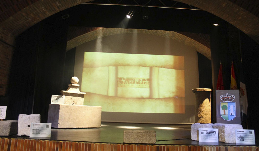 acto de presentación Ruta de la Piedra Valdemorillo portafolio diseño klerr