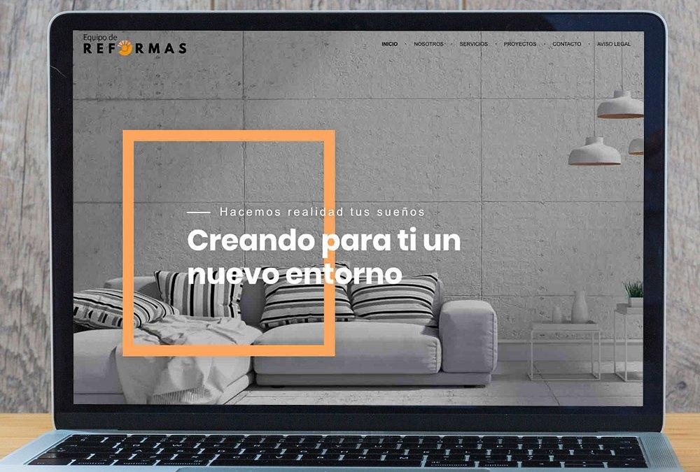 Web equipo de reformas